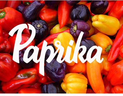 Paprika - Brand Identity.
