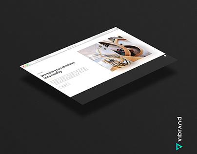 BELLMARE VENTURES WEBSITE DESIGN WORK