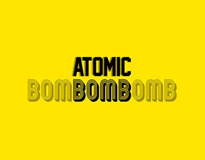 Typography : Atomic