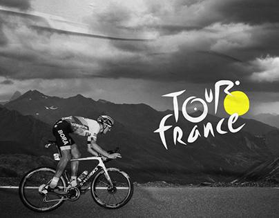 Tour de France - website redesign
