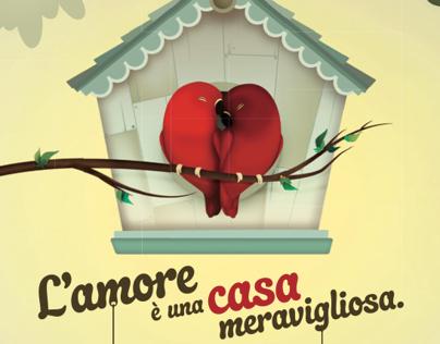 UBI Banca, Mutui, L'amore è una casa meravigliosa.