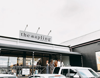 The Sapling Co-Working & Event Space Branding