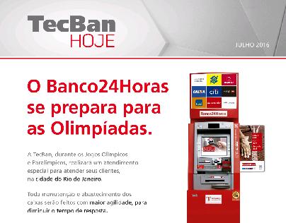 E-mail marketing Banco24Horas nas Olimpiadas