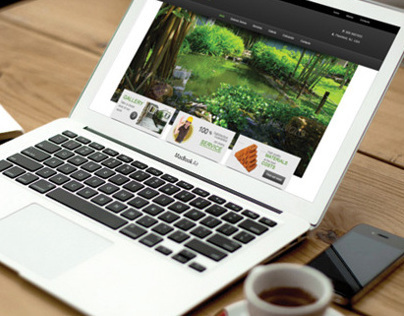 OMV Garden Design Responsive Web Site