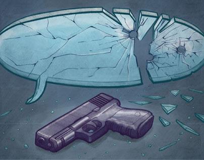 Speech Gun