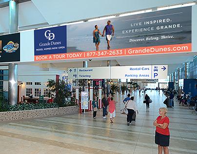 Grande Dunes Airport Advertising