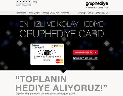 GrupHediye Web Site ve Kampanya