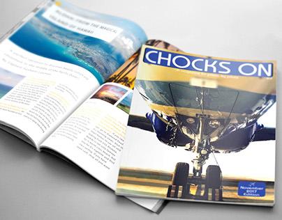Indigo - Chocks On - Magazine Design Project