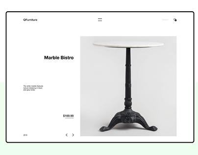 QFurniture - Furniture shop.