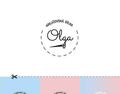 logo - Krejčovská dílna Olga