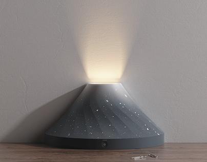 Volcano lamp