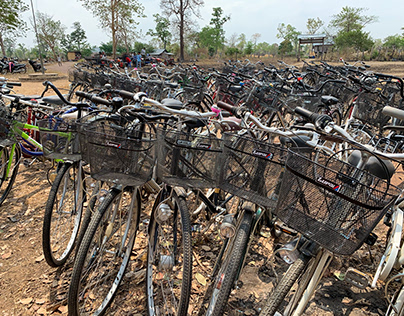 Pedals and Packs with The Wassmuth Center, Cambodia