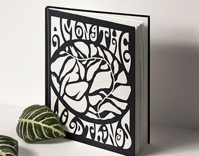Hand Lettered Book Cover