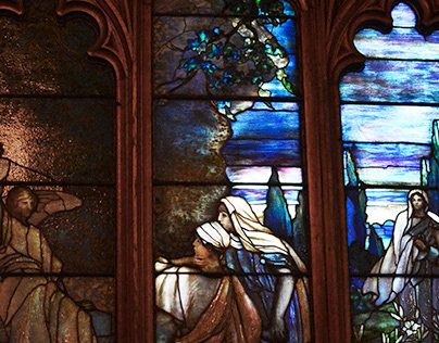 Tiffany Stained Glass - All Saints Episcopal