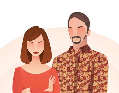 Batik's Couple