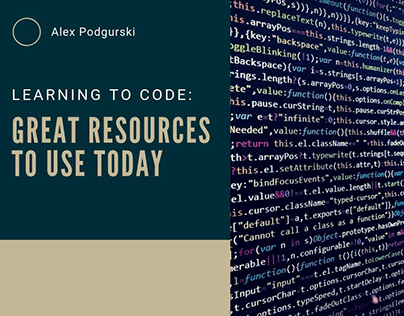 Learning To Code: Great Resources To Try