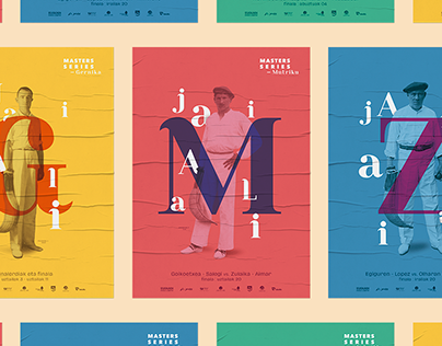 Masters Series Jai Alai - Poster Advert