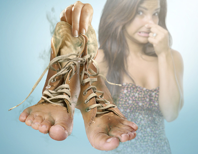 """PROTEX - """"Disposable feet - Smelly feet"""""""