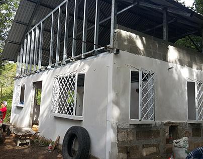 Second Floor/Roof Galvanized steel channel structure