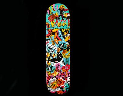 Costum skate deck