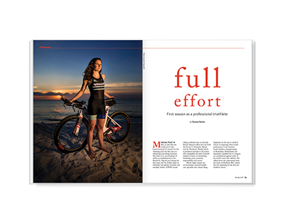 Full Effort - magazine feature design