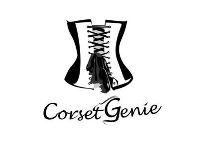 Corset Genie Logo Design