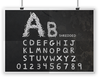 Handmade Custom Typeface Design
