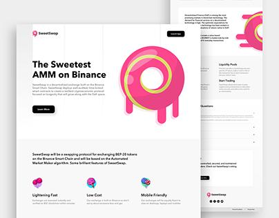 SweetSwap Landing Page