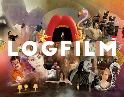 Logfilm Showreel splash screen.