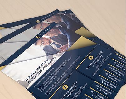 Investment specialist - Flyer Design
