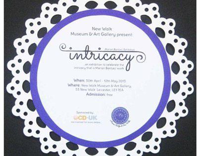 'Intricacy' (Exhibition Identity)