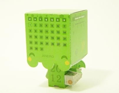 Papertoy Calendar (2012)
