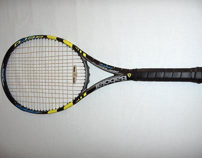 Nadal's 1st Signature Racquet