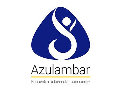 Diseño de Logo Azul Ambar
