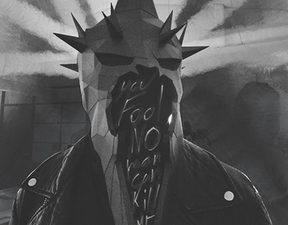 Witch King Paper Mask
