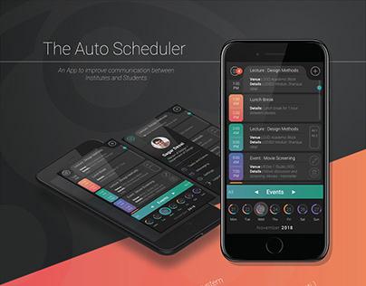 UX | The Auto Scheduler