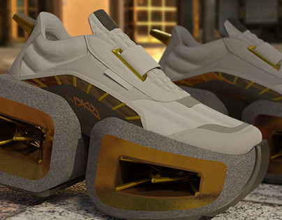 ISDKV RAN - wearable digital shoes