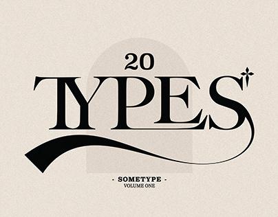 SOMETYPES 2021 - VOLUME 1