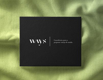 WAYS - New Branding