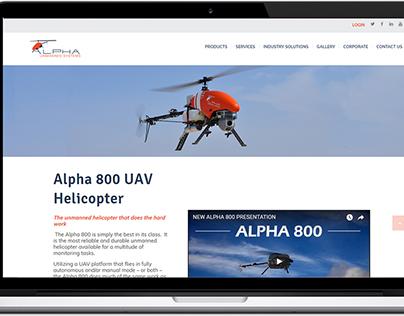 Diseño y programación de sitio web Alpha