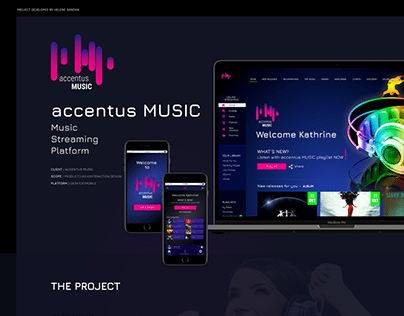 Accentus Music - online streaming plattform