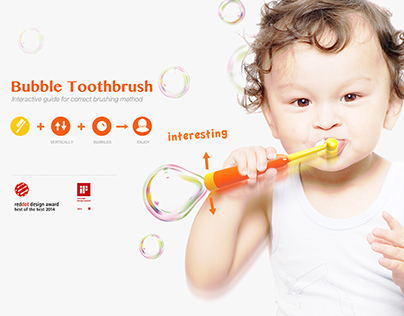 Bubble Toothbrush