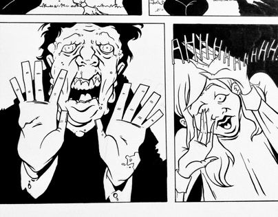 Preview/WIP of my Graphic Novel