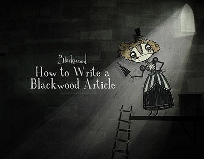 How to Write a Blackwood Article (graduation film)