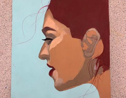 acrylic concentration piece progress 2/1