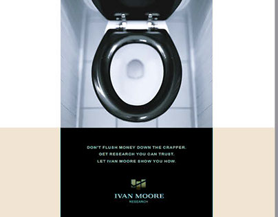 Ivan Moore Research Ad Series