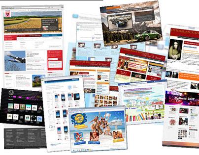 Portfolio Web & Screen-Projects