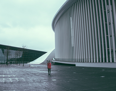 Architecture and Katrin