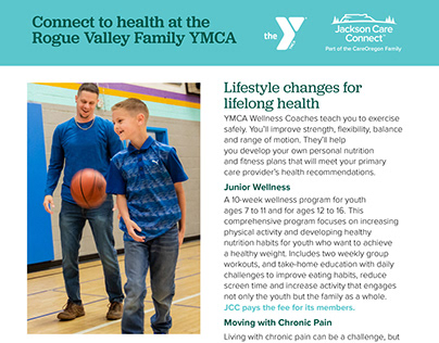 Rogue Valley YMCA digital brochure