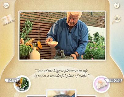 Portfolio App - Carluccio 'Simple Cooking'